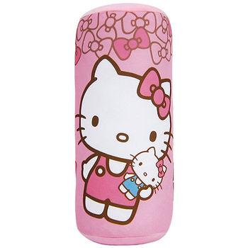 【享夢城堡】HELLO KITTY 我的娃娃圓筒枕(S)