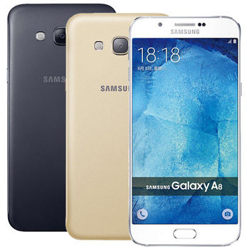 SAMSUNG Galaxy A8 32G/2G 八核5.7吋 雙卡雙待金屬機 A800YZ -送9H玻璃保貼+保護套