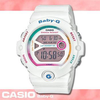 【CASIO 卡西歐 Baby-G 系列】早春新色_繽紛多彩運動女錶(BG-6903)
