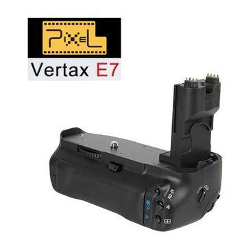 Pixel Vertax E7 品色相機電池手把 For Canon 7D