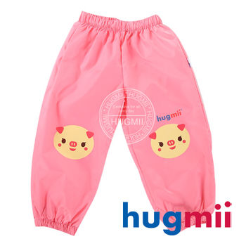 【hugmii】童趣造型兒童雨褲  小豬