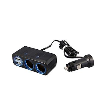 YAC 4.8A雙孔雙USB延長插座(PZ-711)