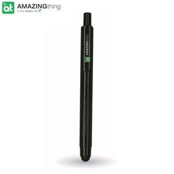 AmazingThing 二合一電容式觸控筆(黑)