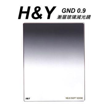 HY GND 漸層玻璃減光鏡 ND0.9 100X125mm 大型方型漸層鏡