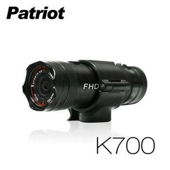 愛國者 超廣角120度防水1080P機車行車記錄器(送16G卡)-K700
