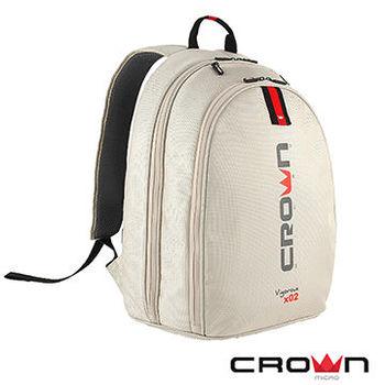 法國設計 Crown (215型) 時尚後背包(象牙白)