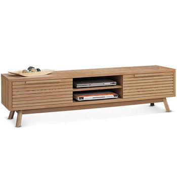 【MY傢俬】歐風極簡設計款木質5尺電視櫃