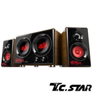 T.C.STAR-三件式多媒體喇叭  TCS3429