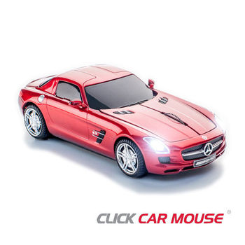 【Click Car Mouse】MERCEDES-BENZ SLS AMG - 紅色款