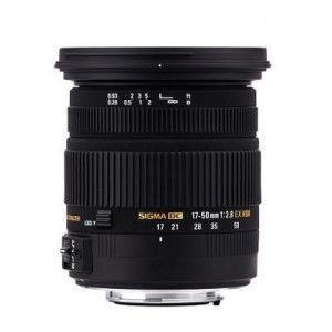 SIGMA 17-50mm F2.8 EX DC HSM 廣角變焦鏡 (平輸)