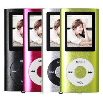 超薄4代炫彩1.8吋 MP3插卡式蘋果機(送8G記憶卡)