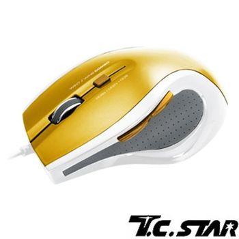 T.C.STAR 藍光有線光學滑鼠TCN187