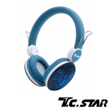 T.C.STAR-頭戴耳機麥克風 TCE8768