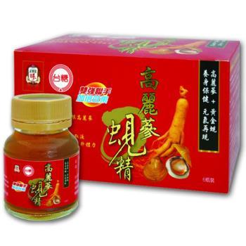 【台糖】高麗蔘蜆精(62ml*48罐/箱)