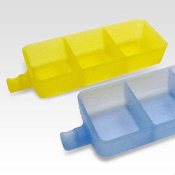 矽膠多功能碟 4入顏色隨機出貨(小菜碟/醬料碟/筷架/製冰盒/果凍盒)