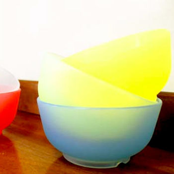 矽膠小碗 4入(顏色隨機出貨)矽膠碗/環保碗/無毒餐具