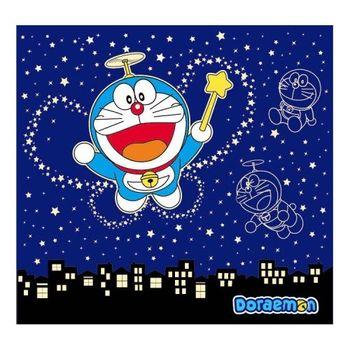 Doraemon星空夜光中門簾