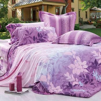 【Betrise聲籟鳴響】雙人100%天絲TENCEL四件式鋪棉兩用被床包組