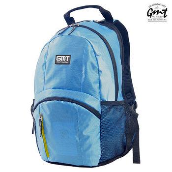 【GMT挪威潮流品牌】專業電腦背包 淺藍,附15吋筆電夾層;旅遊包/登山包/雙肩背包/電腦包