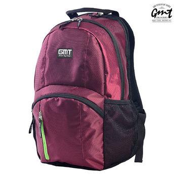 【GMT挪威潮流品牌】專業電腦背包 酒紅,附15吋筆電夾層;旅遊包/登山包/雙肩背包/電腦包