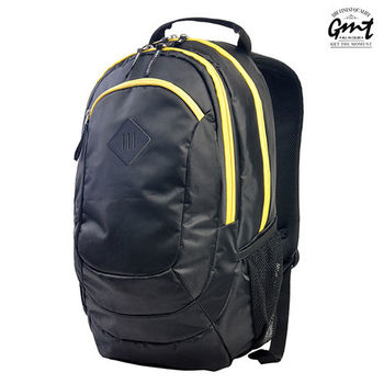 【GMT挪威潮流品牌】專業電腦背包 黑色,附15吋筆電夾層;旅遊包/登山包/雙肩豬鼻包/電腦包