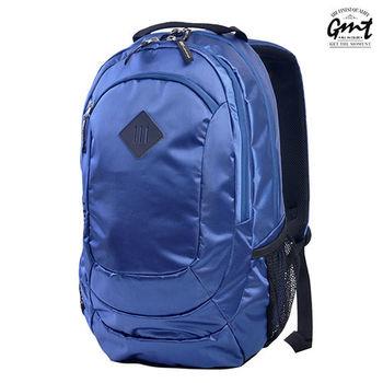 【GMT挪威潮流品牌】專業電腦背包 深藍,附15吋筆電夾層;旅遊包/登山包/雙肩豬鼻包/電腦包