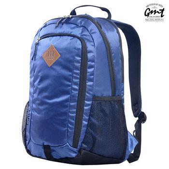 【GMT挪威潮流品牌】專業電腦背包 深藍,附15吋筆電夾層;豬鼻包/旅遊包/後背包/電腦包