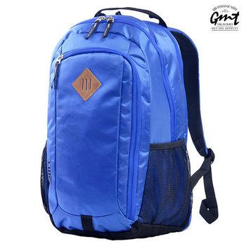 【GMT挪威潮流品牌】 專業電腦背包 寶藍,附15吋筆電夾層;豬鼻包/旅遊包/後背包/電腦包