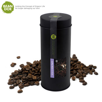《繽豆》咖啡豆-淺焙(0.5磅/罐,共2罐)