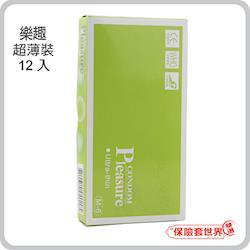 Ple東森購物網asure.超薄裝保險套(12入)