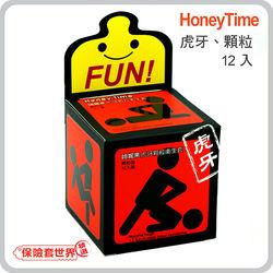 哈妮來.樂活東森購物網站商城套虎牙型保險套-紅(12入)
