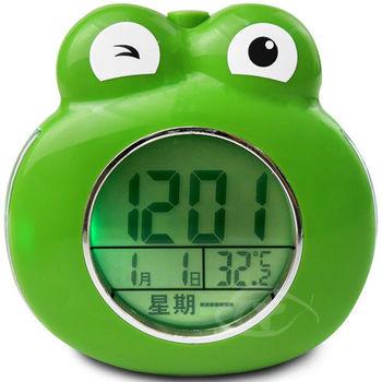 【CATIGA】動物樂園-LED背光夜燈語音鬧鐘-小青蛙