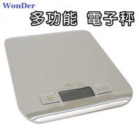 ~WonDer~多 不鏽鋼3公斤電子秤 ^#40 WD ^#45 5419 ^#41
