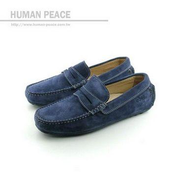 ecco DYNAMIC MOC 豆豆鞋 藍 男款 no301
