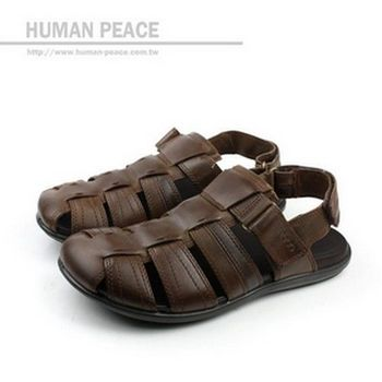 ecco CHANDER SANDAL 涼鞋 咖啡 男款 no298