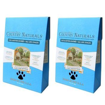 【Country Naturals】格然斯 鄉村時光 雞肉鯡魚 成幼貓配方 12磅 X 2包
