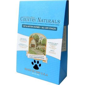 【Country Naturals】格然斯 鄉村時光 雞肉鯡魚 成幼貓配方 12磅 X 1包