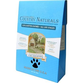 【Country Naturals】格然斯 鄉村時光 雞肉鯡魚 成幼貓配方 6磅 X 1包