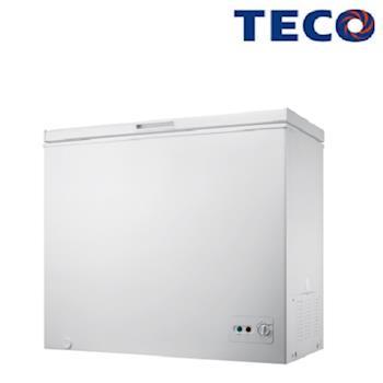 【TECO東元】192L單門上掀式冷凍櫃RL1988W