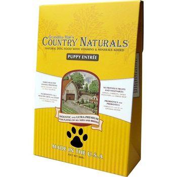 【Country Naturals】格然斯 鄉村時光 幼犬成長配方 28磅 X 1包