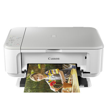 Canon PIXMA MG3670 多功能相片複合機【時尚白】