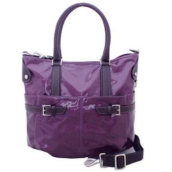 TOD'S BUCKET HOBO手提/肩揹包(小/附背帶)-紫色