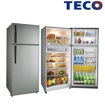 雙重送【TECO東元】600L變頻雙門冰箱R6161X(銅H)