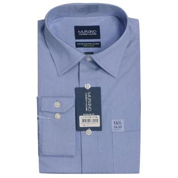 【MURANO】美式適感滿分短袖商務襯杉 淺藍
