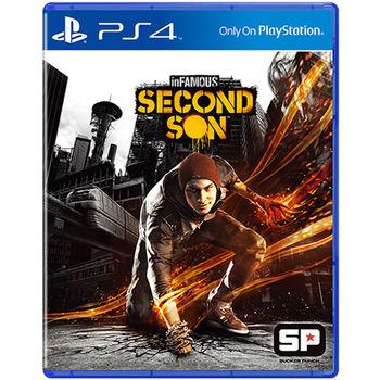 PS4遊戲 惡名昭彰:第二之子 亞洲中文版