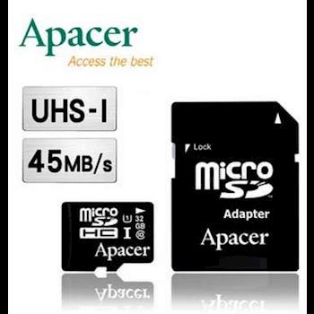 Apacer 宇瞻 32GB MicroSDHC UHS-I Class10 記憶卡--二入組