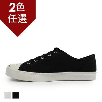 PLAYER  經典低筒帆布鞋(XP07) 黑色