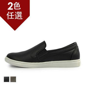 PLAYER  霧面質感紳士懶人鞋 (GP52) 黑色