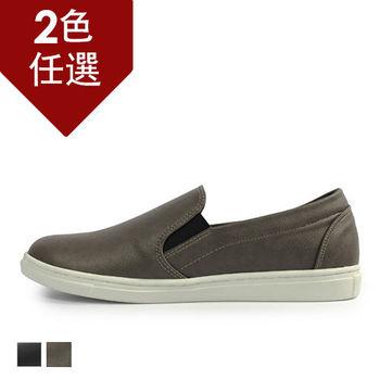 PLAYER  霧面質感紳士懶人鞋 (GP52) 灰色