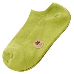 可諾帕網狀造型船襪(學生專用)x4雙C東森電視購物退貨97001果綠